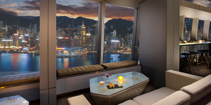 Window Seats, Ozone, Tsim Sha Tsui, Hong Kong