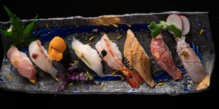 Assorted sushi, Kyoto Joe, Central, Hong Kong