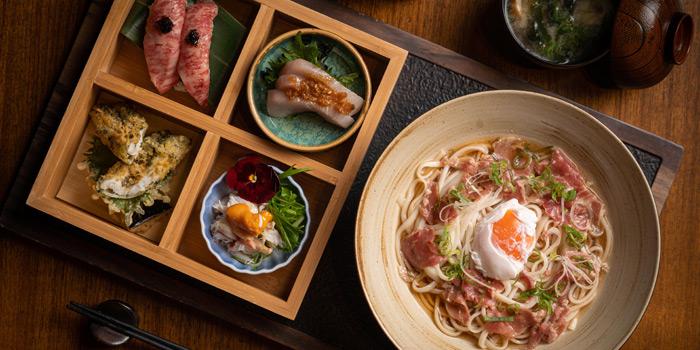Executive lunch, Kyoto Joe, Central, Hong Kong