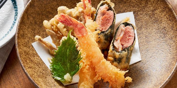 Assorted tempura, Kyoto Joe, Central, Hong Kong
