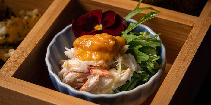 Flower crab meat salad, Kyoto Joe, Central, Hong Kong