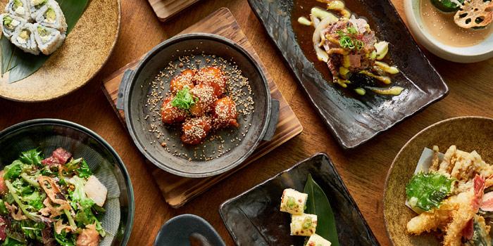 Group foodshot, Kyoto Joe, Central, Hong Kong