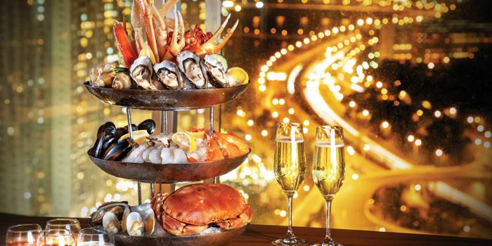 Seafood Platter, LEVELthirty Lounge & Bar, Shatin, Hong Kong