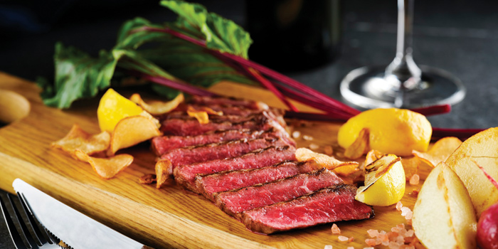 Grilled Steak, LEVELthirty Lounge & Bar, Shatin, Hong Kong