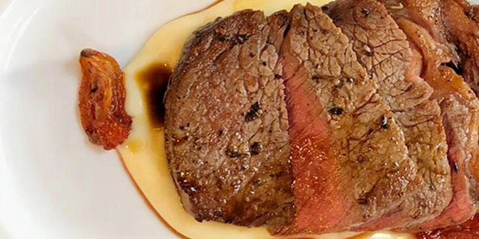 Charred Australian Westholme Kobe M5 ribeye steak, Crit Room, Sheung Wan, Hong Kong