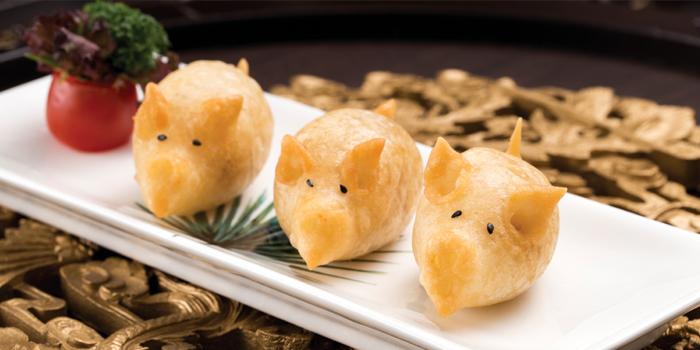 Mixed Puff with Pork, Greater China Club, Lai Chi Kok, Hong Kong