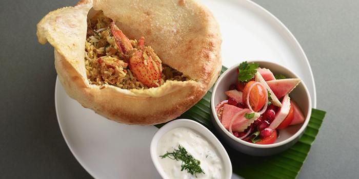 Lobster Biryani from COMO Cuisine in Dempsey, Singapore