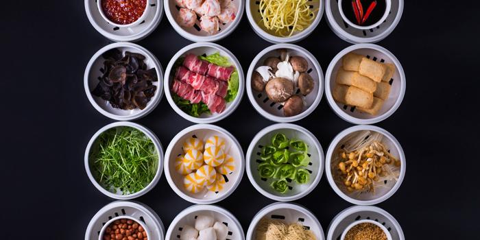 Noodle Station Ingredients, MoMo Café (Courtyard Hong Kong Sha Tin), Sha Tin, Hong Kong