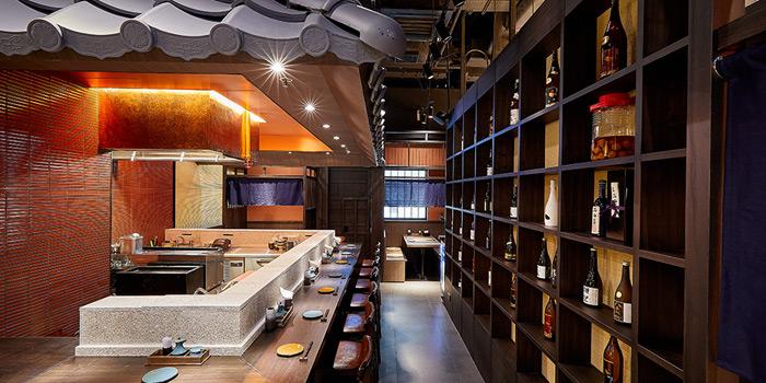 Bar Seats, KIDO Yakitori Kushiage, Tsim Sha Tsui, Hong Kong