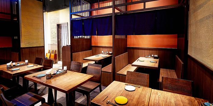 Dining Area, KIDO Yakitori Kushiage, Tsim Sha Tsui, Hong Kong