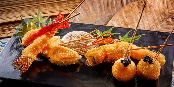 Deep Fried Prawn, KIDO Yakitori Kushiage, Tsim Sha Tsui, Hong Kong