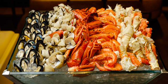 Easter Seafood Station (12 Apr) from 15 Stamford by Alvin Leung at The Capitol Kempinski Hotel in City Hall, Singapore