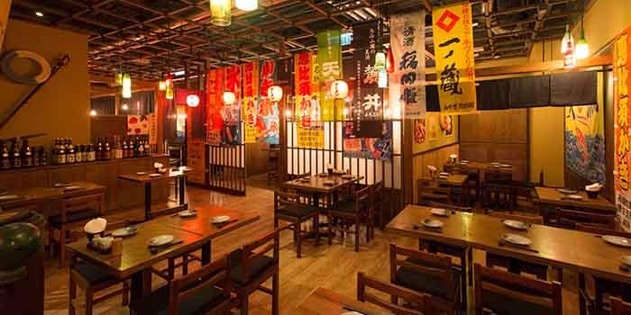 Dining Area, Umai Ramen Sumibiyaki, Lai Chi Kok, Hong Kong