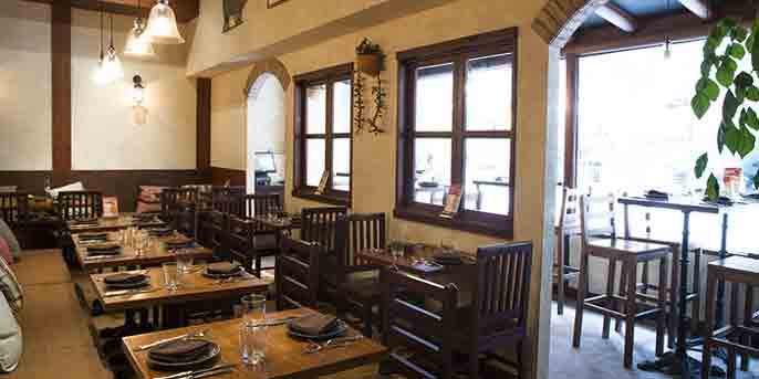 Dining Area, Rustico Spanish Restaurant, Lai Chi Kok, Hong Kong