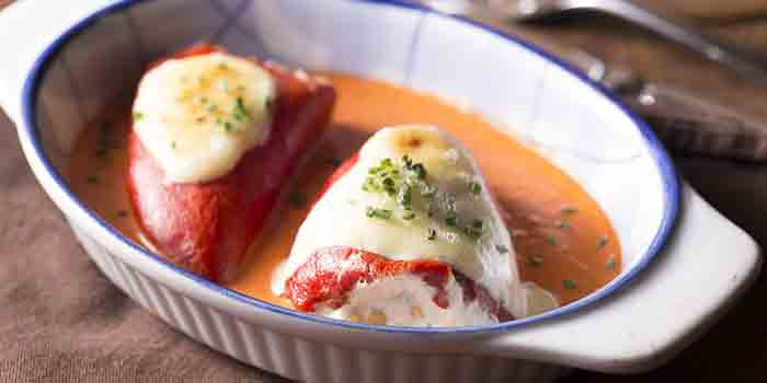 Red PiquilloPepper with Cod Mousse, Rustico Spanish Restaurant, Lai Chi Kok, Hong Kong