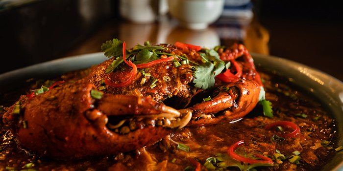 Chilli Crab from Greenwood Fish Market @ Asian Cuisine in Sentosa, Singapore