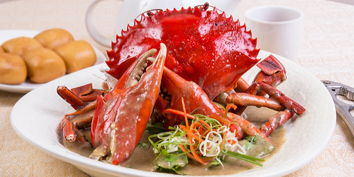 Chilli Crab from East Treasure Chinese Restaurant Chinese Restaurant in Clarke Quay, Singapore