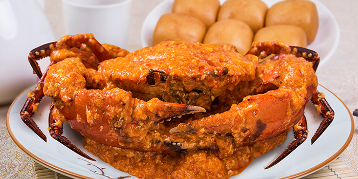 White Pepper Crab from East Treasure Chinese Restaurant Chinese Restaurant in Clarke Quay, Singapore