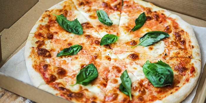 Pizza from Group Therapy Coffee (Cross Street Exchange) in Telok Ayer, Singapore