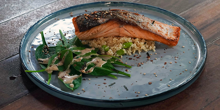 Roasted Salmon from Bee