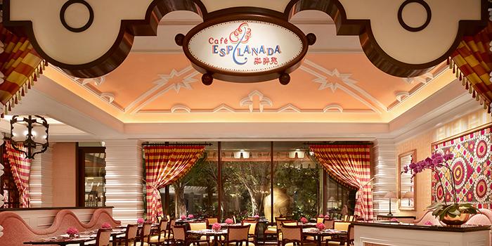 Entrance, Café Esplanada, Wynn Macau, Macau