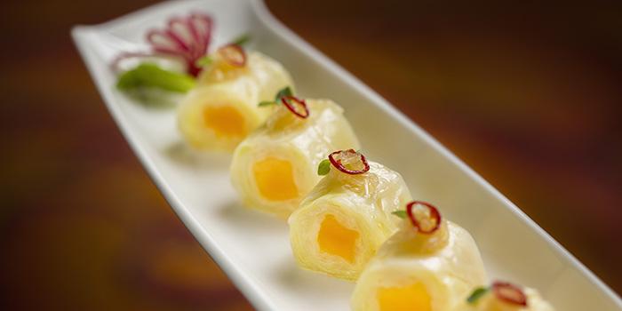 Sweet & Sour Cabbage Roll with Mango in Chili Vinaigrette, Golden Flower, Wynn Macau, Macau