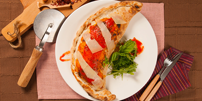 Calzone Rosso Vino from Rosso Vino in Robertson Quay, Singapore