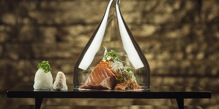 Homemade Smoked Salmon Marinated with Soy Sauce, Mizumi, Wynn Macau, Macau