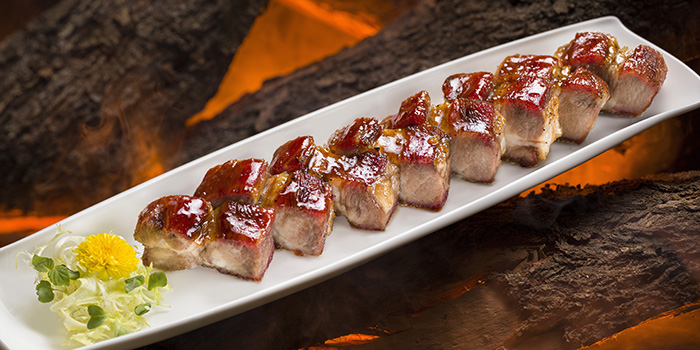 Barbecued Iberico Pork with Maple Syrup, Wing Lei, Wynn Macau, Macau