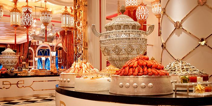 Seafood Buffet, Fontana Buffet, Wynn Palace, Macau