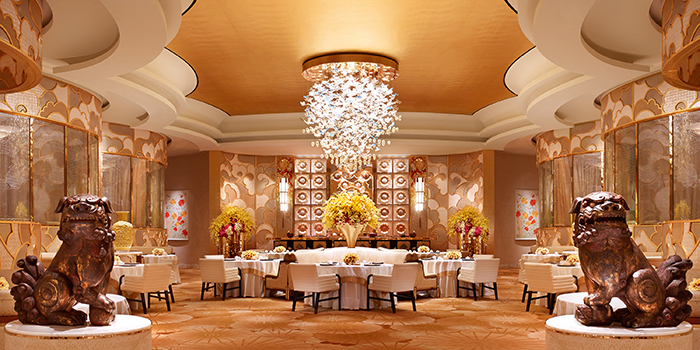 Main Dining Area, Sichuan Moon, Wynn Palace, Macau