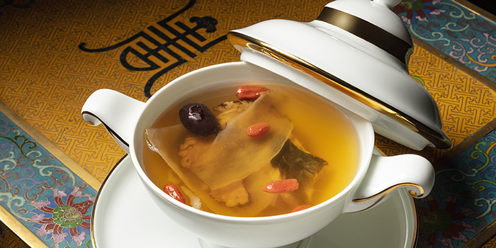 Double-boiled Fish Head Soup with Tian Ma and Ligusticum, Wing Lei Palace, Wynn Palace, Macau