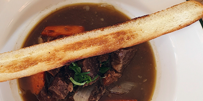 Beef Stew with Baguette from Professor Brawn Bistro at Enabling Village Academy Block in Tiong Bahru, Singapore