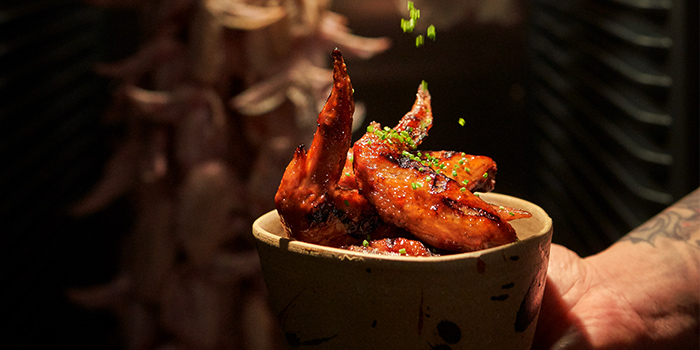Aged Chicken Mid Wings from Lumo in Clarke Quay, Singapore