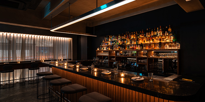 Bar Area, Bar and Window Seating from Lumo in Clarke Quay, Singapore