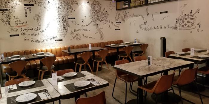 Interior, Greyhound Cafè, Ocean Terminal, Hong Kong