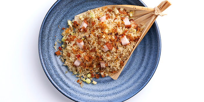 Fried Rice with Roasted Pork with XO from Peach Garden (The Metropolis) at The Metropolis Tower in Buona Vista, Singapore