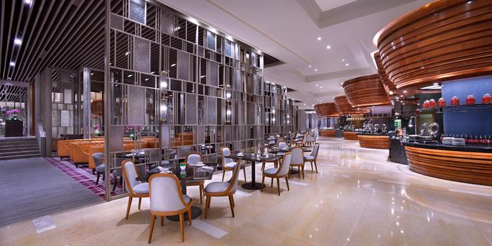 Interior at Asia Restaurant Ritz Carlton, Jakarta