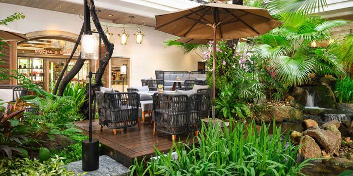 Ambience of Mocha & Muffins at Anantara Siam Bangkok Hotel, Lumphini, Pathum Wan, Bangkok, Thailand