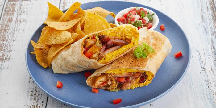 Breakfast Burrito from Slanted Taco at 16 Sukhumvit Soi 23 Khlong Toei Nuea Bangkok