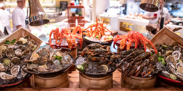 Seafood Station from 57th Street at JW Marriott Hotel Sukhumvit 57 Klongtan Nua Wattana Bangkok