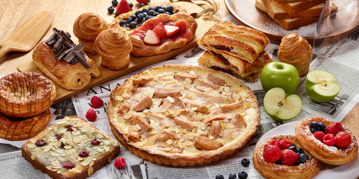 Pastry Selection from Mocha & Muffins at Anantara Siam Bangkok Hotel, Lumphini, Pathum Wan, Bangkok, Thailand