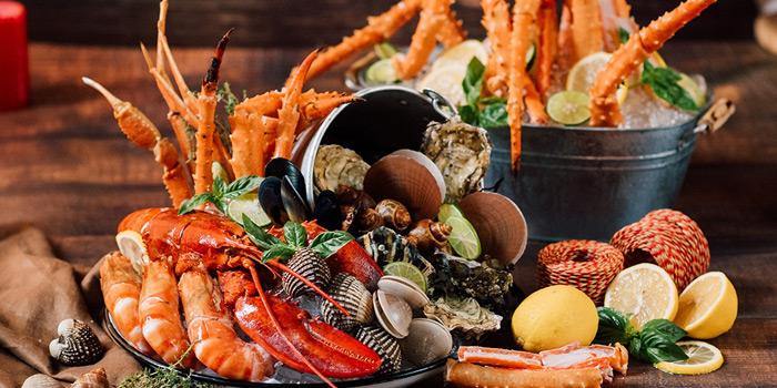 Selection of Food from 57th Street at JW Marriott Hotel Sukhumvit 57 Klongtan Nua Wattana Bangkok