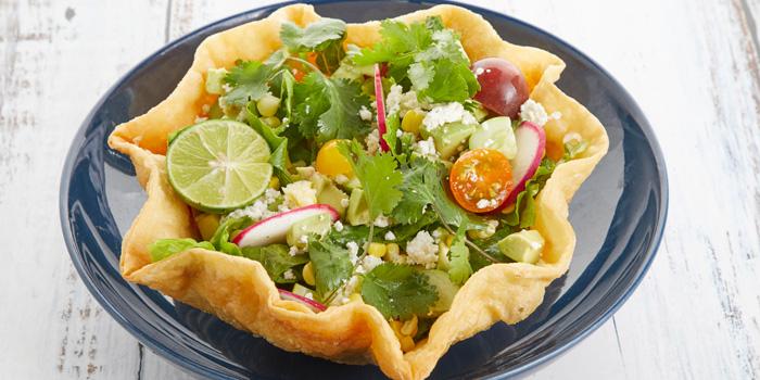 Taco Salad from Slanted Taco at 16 Sukhumvit Soi 23 Khlong Toei Nuea Bangkok