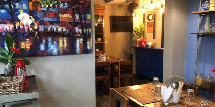 Ambience of The Kitchen at Yenakat at 26, 3 Yen Akat Rd Thung Maha Mek, Sathon Bangkok