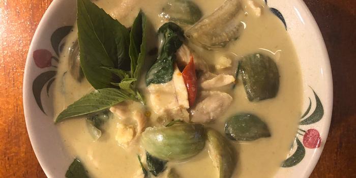 Chicken Green Curry from The Kitchen at Yenakat at 26, 3 Yen Akat Rd Thung Maha Mek, Sathon Bangkok