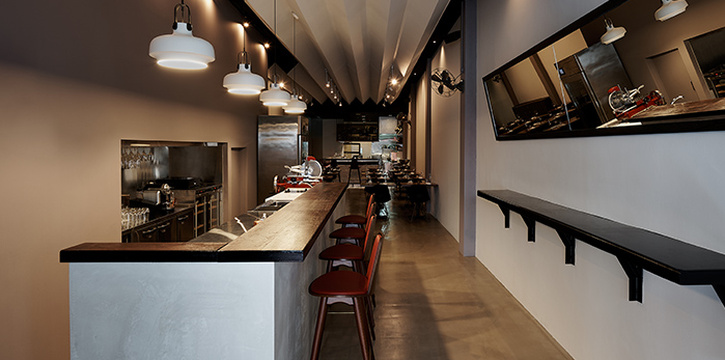 Interior from Salted & Hung on Purvis Street in Bugis, Singapore
