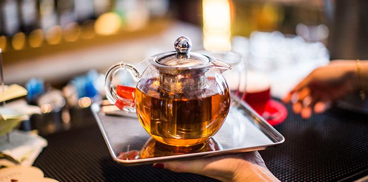 Tea from Ginett Restaurant & Wine Bar in Bugis, Singapore