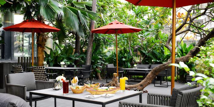 Outdoor Seating of BBCO at JW Marriott Hotel Bangkok (1st Floor) 4 SukhumvitSoi 2, Sukhumvit Rd Bangkok