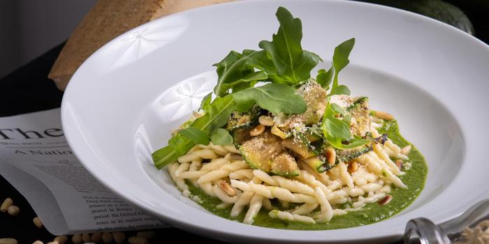 Vegetarian Pasta from Plate at Carlton Bangkok Hotel, 491 Sukhumvit Rd, Khlong Toei Nuea, Watthana, Bangkok